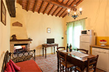 Farmhouse in Tuscany: Apartment near Cortona with pool to let for holidays in Italy