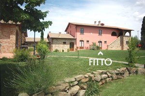 appartamento FITTO: Apartment with pool to rent in Farm holidays in Tuscany, near Cortona