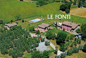 Farmhouse in Tuscany: Apartment with pool to let for holidays in Italy